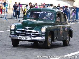 1955 ГАЗ-М20В Александр Кулиджанов и Валерий Лезин, Москва на ГУМ Авторалли Gorkyclassic-2014 - 1