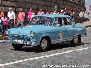 1961 ГАЗ-21И Волга Святослав Комаров и Василий Карамышкин, Москва на ГУМ Авторалли Gorkyclassic-2014 - 1