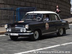 1969 ГАЗ-21Р Волга Борис Жажков и Оксана Жажкова, Москва на ГУМ Авторалли Gorkyclassic-2014 - 1