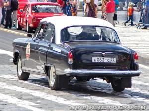 1969 ГАЗ-21Р Волга Борис Жажков и Оксана Жажкова, Москва на ГУМ Авторалли Gorkyclassic-2014 - 2
