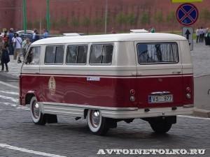 1962 РАФ-977 Валдис Гилис и Анэт Гиле, Рига на ГУМ Авторалли Gorkyclassic-2014 - 2