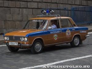 1978 ВАЗ-2103 ротор Сергей Суворов и Сергей Вавилов, Москва на ГУМ Авторалли Gorkyclassic-2014 - 1