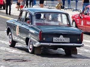 1967 Москвич-408 Ольга Кощеева и Василиса Баклашова, Москва на ГУМ Авторалли Gorkyclassic-2014 - 2