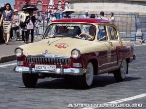 1960 ГАЗ-21И Волга Дмитрий Кильпио, Москва на ГУМ Авторалли Gorkyclassic-2014 - 1