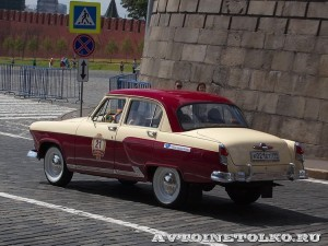 1960 ГАЗ-21И Волга Дмитрий Кильпио, Москва на ГУМ Авторалли Gorkyclassic-2014 - 2