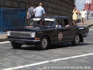 1986 ГАЗ-24-24 Антон Федосов и Виталий Цапко, Подольск на ГУМ Авторалли Gorkyclassic-2014 - 1