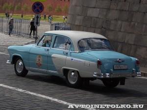 1960 ГАЗ-21И Волга Андрей Леонтьев и Анна Завершинская, Москва на ГУМ Авторалли Gorkyclassic-2014 - 2