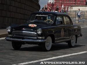 1969 ГАЗ-21 Волга Роман Русинов, Москва на ГУМ Авторалли Gorkyclassic-2014 - 1