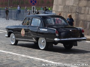 1969 ГАЗ-21 Волга Роман Русинов, Москва на ГУМ Авторалли Gorkyclassic-2014 - 2