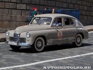 1953 ГАЗ-М20 Победа Михаил Куснирович, Москва на ГУМ Авторалли Gorkyclassic-2014 - 1