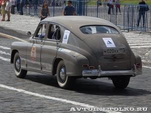 1953 ГАЗ-М20 Победа Михаил Куснирович, Москва на ГУМ Авторалли Gorkyclassic-2014 - 2
