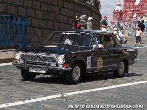 1979 ГАЗ-24 Волга Александр Линников и Дмитрий Истомин, Москва на ГУМ Авторалли Gorkyclassic-2014 - 1