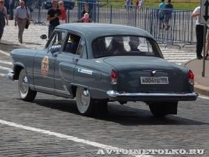 1966 ГАЗ-21Р Волга Василий Сусеков и Оксана Гапчич, Москва на ГУМ Авторалли Gorkyclassic-2014 - 2