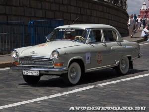 1965 ГАЗ-21УС Волга Андрей Миронов и Сергей Садовой, Москва на ГУМ Авторалли Gorkyclassic-2014 - 1