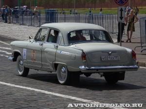 1965 ГАЗ-21УС Волга Андрей Миронов и Сергей Садовой, Москва на ГУМ Авторалли Gorkyclassic-2014 - 2