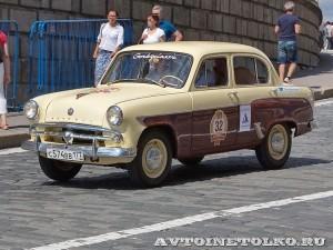 1959 Москвич-407 Леонид Карпов, Москва на ГУМ Авторалли Gorkyclassic-2014 - 1