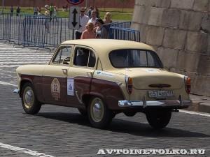 1959 Москвич-407 Леонид Карпов, Москва на ГУМ Авторалли Gorkyclassic-2014 - 2