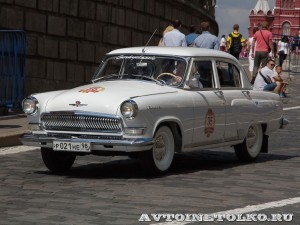 1967 ГАЗ-21Р Волга Виталий Цыбульский, Ленинград на ГУМ Авторалли Gorkyclassic-2014 - 1
