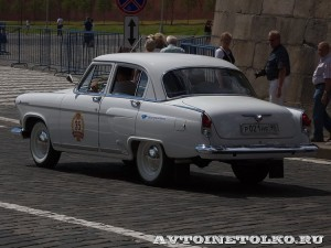 1967 ГАЗ-21Р Волга Виталий Цыбульский, Ленинград на ГУМ Авторалли Gorkyclassic-2014 - 2