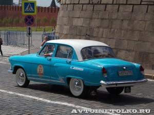 1965 ГАЗ-21С Волга Андрей Гавшин, Ленинград на ГУМ Авторалли Gorkyclassic-2014 - 2