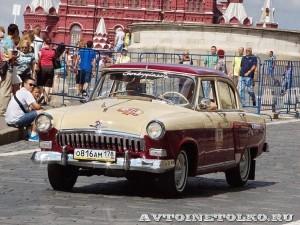 1960 ГАЗ-21И Волга Валерий Лукьяненко, Ленинград на ГУМ Авторалли Gorkyclassic-2014 -