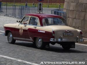 1960 ГАЗ-21И Волга Валерий Лукьяненко, Ленинград на ГУМ Авторалли Gorkyclassic-2014 - 2