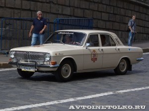 1980 ГАЗ-24 Волга Михаил Мотылёв, Ленинград на ГУМ Авторалли Gorkyclassic-2014 - 1