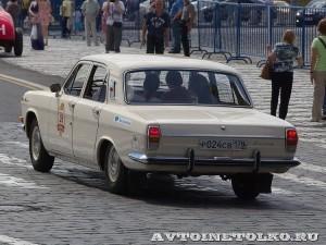 1980 ГАЗ-24 Волга Михаил Мотылёв, Ленинград на ГУМ Авторалли Gorkyclassic-2014 - 2