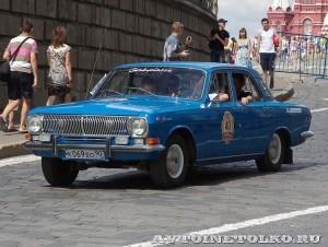1982 ГАЗ-24 Волга Дмитрий Алёшин, Ленинград на ГУМ Авторалли Gorkyclassic-2014 - 1