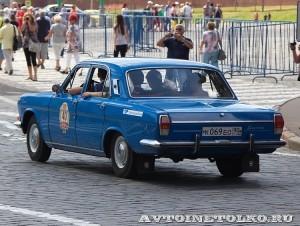 1982 ГАЗ-24 Волга Дмитрий Алёшин, Ленинград на ГУМ Авторалли Gorkyclassic-2014 - 2