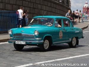 1967 ГАЗ-21Р Волга Владимир Смагин и Светлана Галушка, Москва на ГУМ Авторалли Gorkyclassic-2014 - 1