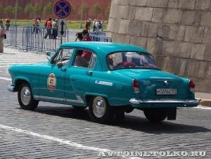1967 ГАЗ-21Р Волга Владимир Смагин и Светлана Галушка, Москва на ГУМ Авторалли Gorkyclassic-2014 - 2