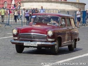 1963 ГАЗ-22 Волга Кирилл Пономарёв, Москва на ГУМ Авторалли Gorkyclassic-2014 - 1
