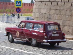 1963 ГАЗ-22 Волга Кирилл Пономарёв, Москва на ГУМ Авторалли Gorkyclassic-2014 - 2