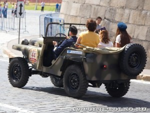1941 ГАЗ-64 Максим Зубарев и Виктория Зубарева, Москва на ГУМ Авторалли Gorkyclassic-2014 - 4