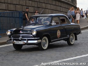 1958 ГАЗ-21В Волга Дмитрий Октябрьский, Москва на ГУМ Авторалли Gorkyclassic-2014 - 1