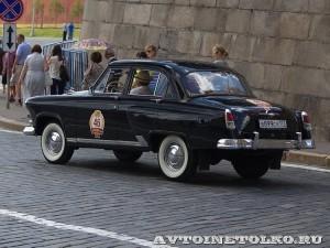 1958 ГАЗ-21В Волга Дмитрий Октябрьский, Москва на ГУМ Авторалли Gorkyclassic-2014 - 2