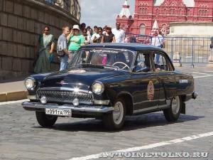 1969 ГАЗ-21УС Волга Александр Адоратский и Евґений Певзнер, Москва на ГУМ Авторалли Gorkyclassic-2014 - 1