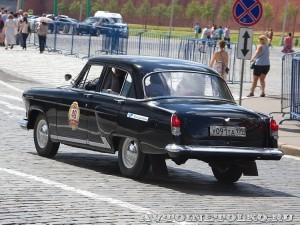 1969 ГАЗ-21УС Волга Александр Адоратский и Евґений Певзнер, Москва на ГУМ Авторалли Gorkyclassic-2014 - 2