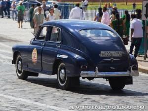 1951 ГАЗ-М20 Победа Владимир Возовик и Наталья Возовик, Москва на ГУМ Авторалли Gorkyclassic-2014 - 2