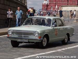 1974 ГАЗ-24 Волга Роман Пинаев, Москва на ГУМ Авторалли Gorkyclassic-2014 - 1