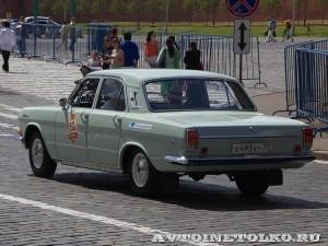 1974 ГАЗ-24 Волга Роман Пинаев, Москва на ГУМ Авторалли Gorkyclassic-2014 - 2