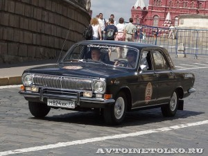 1978 ГАЗ-24 Волга Кирилл Горин и Алексей Бакун, Москва на ГУМ Авторалли Gorkyclassic-2014 - 1