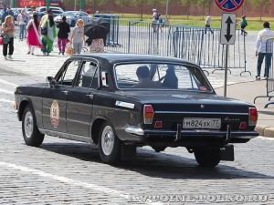 1978 ГАЗ-24 Волга Кирилл Горин и Алексей Бакун, Москва на ГУМ Авторалли Gorkyclassic-2014 - 2