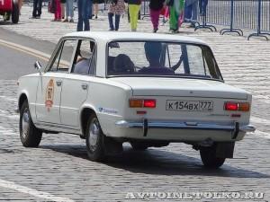 1970 ВАЗ-2101 Алексей Лыскин и Олег Игнатьев, Москва на ГУМ Авторалли Gorkyclassic-2014 - 2