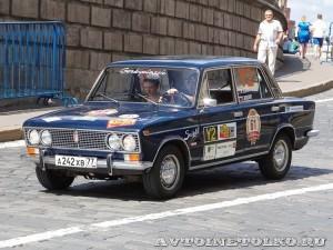 1982 ВАЗ-2103 Александр Лекае (старший) и Ирина Шарапова, Москва на ГУМ Авторалли Gorkyclassic-2014 - 1