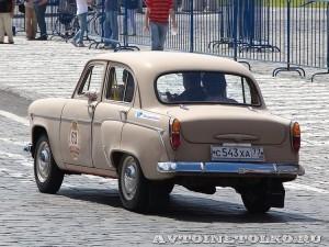 1963 Москвич-403 Александр Любицкий и Андрей Семенихин, Москва на ГУМ Авторалли Gorkyclassic-2014 - 2