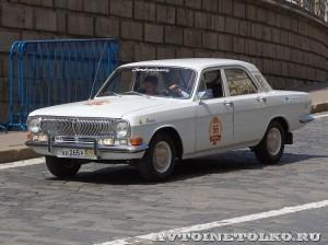 1979 ГАЗ-24 Волга Александр Ермолаев и Андрей Фецянин, Москва на ГУМ Авторалли Gorkyclassic-2014 - 1