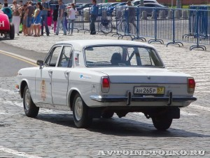 1979 ГАЗ-24 Волга Александр Ермолаев и Андрей Фецянин, Москва на ГУМ Авторалли Gorkyclassic-2014 - 2