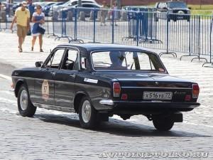 1982 ГАЗ-24-25 Волга Игорь Чернышёв и Денис Васильев, Москва на ГУМ Авторалли Gorkyclassic-2014 - 2